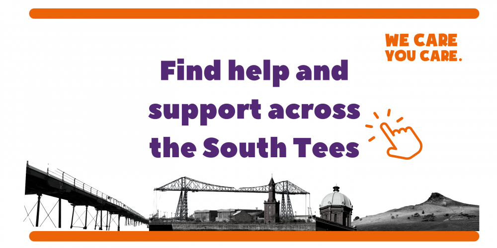 Find help and support across the South Tees