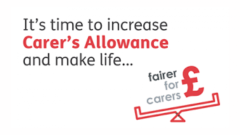 Fairer for Carers campaign by Carers UK